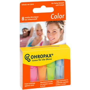 Ohropax Color Plux 8 Stk.