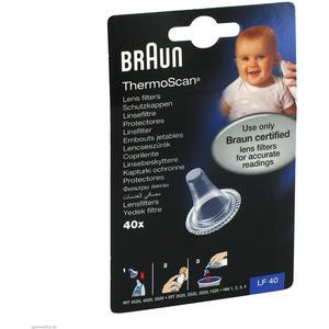 Braun Thermoscan Schutzkappen für Ohr-Fieberthermometer 40 Stk.