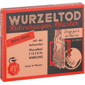Wurzeltod Hühneraugen Pflaster 6 Stk.