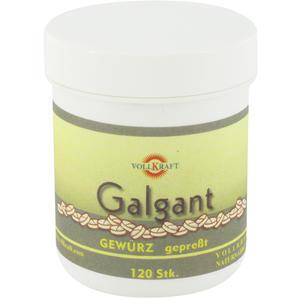 Vollkraft Galgant Tabletten 30 g 120 Stück