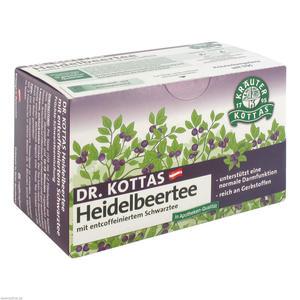 Dr. Kottas Heidelbeertee 20 Stk.