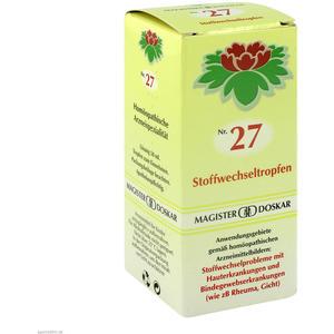 Doskar Tropfen 27 Stoffwechsel 50 ml