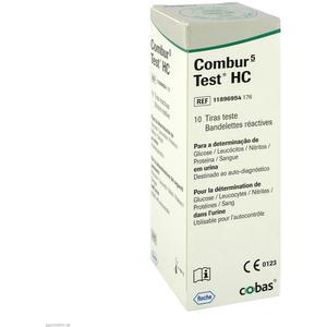 Roche Combur 5 Test HC Teststreifen 10 Stk.
