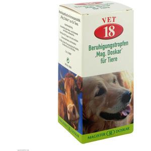 Mag. Doskar für Tiere VET Nr. 18 Beruhigung 50 ml