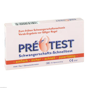 Pretest Schwangerschafts-Schnelltest 1 Stk.