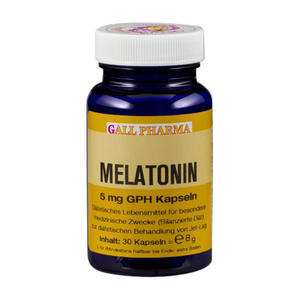 Gall Pharma Melatonin 5 mg Kapseln 30 Stk.