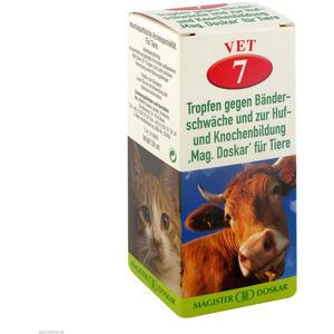 Mag. Doskar für Tiere VET Nr. 7 gegen Bänderschwäche und zur Huf- und Knochenbildung 50 ml