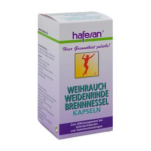 Hafesan Weihrauch + Weidenrinde + Brennessel Kapseln 60 Stk.