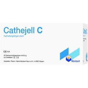 Cathejell C – Kathetergleitgel steril 25 Stk. 8,5 g