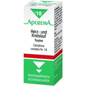 Apozema Tropfen Nr. 18 Herz/Kreislauf 50 ml
