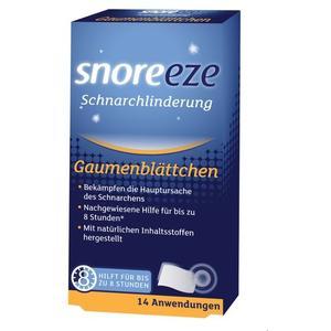 Snoreeze Gaumenblättchen 14 Stk.