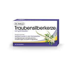 Dr. Böhm Traubensilberkerze Filmtabletten 6,5 mg 60 Stk.