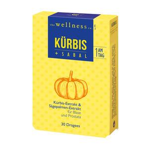 Wellness Kürbis + Sabal Dragees 30 Stk.