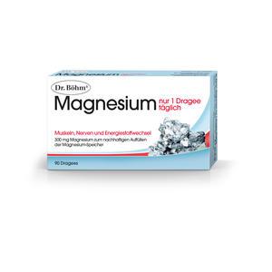 Dr. Böhm Magnesium nur 1 Dragee täglich 90 Stk.
