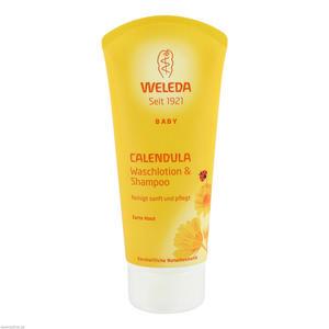 Weleda Waschlotion + Shampoo 200 ml Calendula