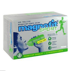 Magnofit Sport Granulat 40 Stk.