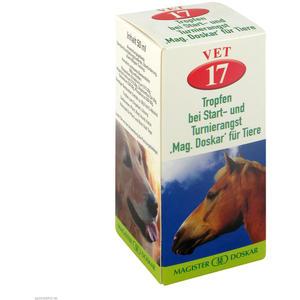 Mag. Doskar für Tiere VET Nr. 17 bei Start- und Turnierangst 50 ml