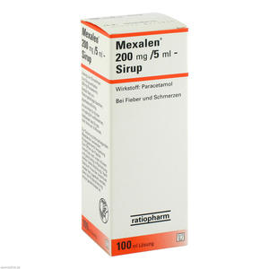 Mexalen 200 mg/5 ml Sirup 100 ml
