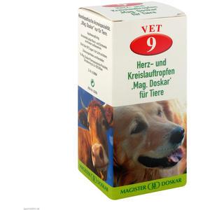 Mag. Doskar für Tiere VET Nr. 9 Herz- und Kreislauf 50 ml