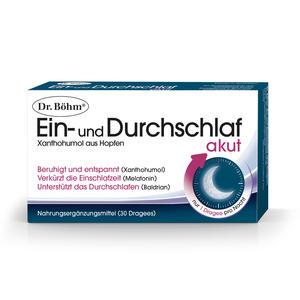 Dr. Böhm Ein- und Durchschlaf akut 30 Stk.