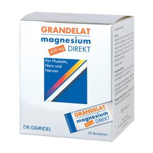 Grandelat Magnesium Direkt 400 mg Briefchen 20 Stk.