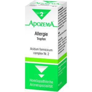 Apozema Tropfen Nr. 2 Allergie 50 ml