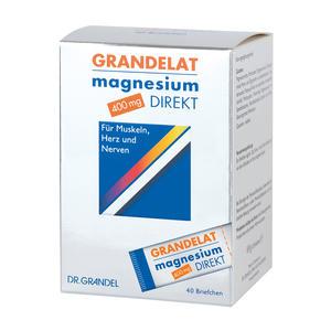 Grandelat Magnesium Direkt 400 mg Briefchen 40 Stk.