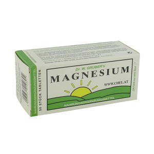 Dr. Grubers Magnesium Chelat Tabletten 50 Stk.