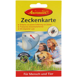 Aeroxon Zeckenkarte 1 Stk.