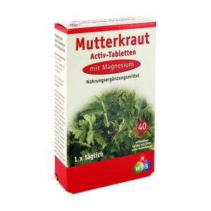 Mutterkraut-Magnesium Activ Tabletten 40 Stk.