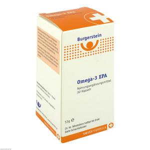 Burgerstein Omega 3 EPA Kapseln 50 Stk.
