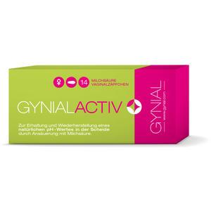 Gynial Active Vaginalzäpfchen 14 Stk.