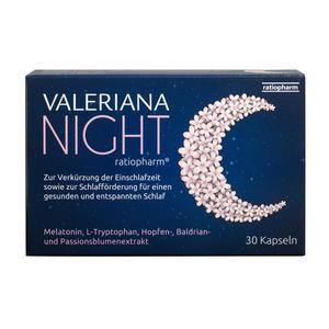 Valeriana NIGHT ratiopharm 30 Stk.