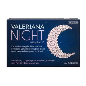 Valeriana Night Kapseln 30 Stk.