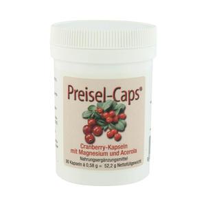Preisel-caps Cranberry + Acerola + Magnesium 90 Stk.