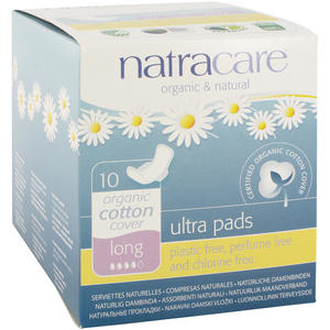 Natracare Damenbinde Ultra Large NOR+ NAT 10 Stk.