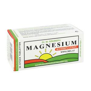 Dr. Grubers Magnesium Chelat Tabletten Kombi 50 Stk.