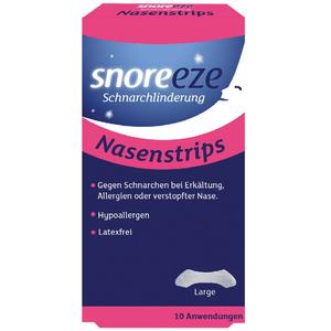 Snoreeze Nasenstrips 10 Stk.