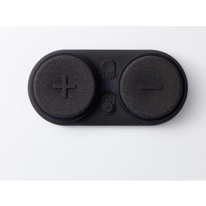 Zeppy Soundbuddy, Wasserdichter Bluetooth Lautsprecher, Schwimmfähig, Sanddicht, Massagefunktion; BLACK