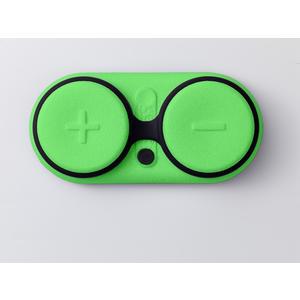 Zeppy Soundbuddy, Wasserdichter Bluetooth Lautsprecher, Schwimmfähig, Sanddicht, Massagefunktion; GREEN