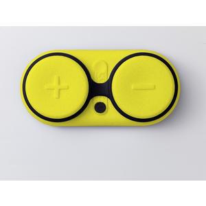 Zeppy Soundbuddy, Wasserdichter Bluetooth Lautsprecher, Schwimmfähig, Sanddicht, Massagefunktion; YELLOW