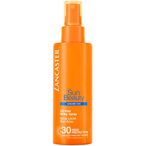 Lancaster Sun Beauty Body Care Sun Oil-Free Milk Spray Tan SPF30, 150 ml (+GRATIS Pflege-Set)