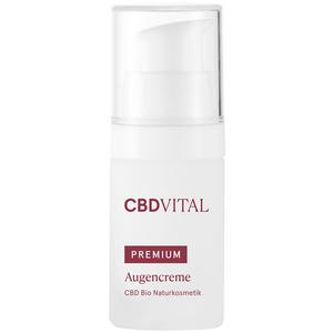 CBD-Vital CBD Bio Kosmetik Premium Augencreme, 15 ml