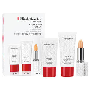Elizabeth Arden Eight Hour SET (Lip Protectant Stick SPF15, Skin Protectant Cream 15ml + Cream Intensive Moisturizing Hand Treatment 30ml), 1 Set