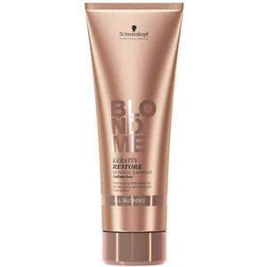 Schwarzkopf Professional BlondMe Keratin Restore Bonding Shampoo All Blondes, 250 ml