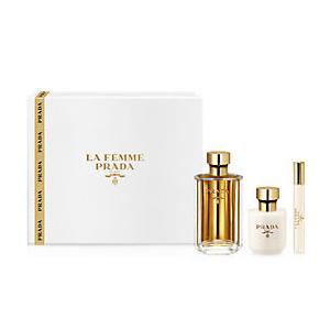 Prada La Femme SET (Eau de Parfum 100ml + Eau de Parfum Roll-On 10ml + Bodylotion 100ml), 1 Set