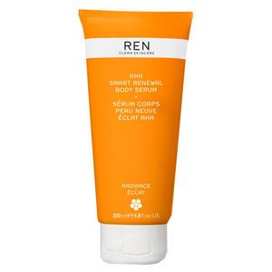 REN Radiance Skincare AHA Smart Renewal Body Serum, 200 ml