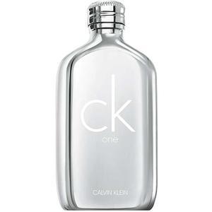 Calvin Klein ck one platinum Eau de Toilette, 100 ml