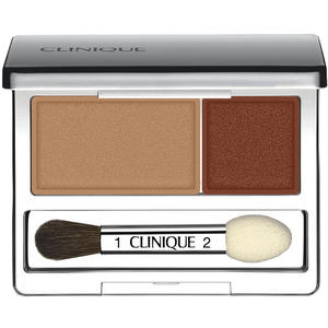 Clinique All About Shadow Eyeshadow Duo, 10 Mixed Greens, 2.2 g