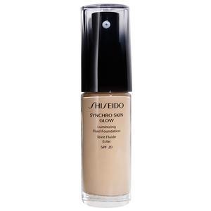 Shiseido Synchro Skin Glow Luminizing Fluid Foundation SPF 20, Rose 1, 30 ml